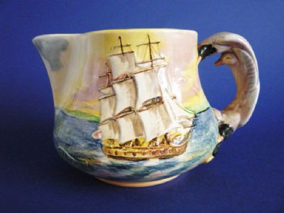 Rare Royal Doulton 'Famous Ships - The Sirius' Medium Jug D5957 c1938